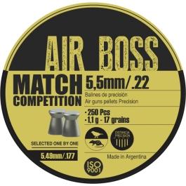 BALIN APOLO AIR BOSS MATCH COMPETITION CAL. 5,5 1,1 GRS. 250 U.