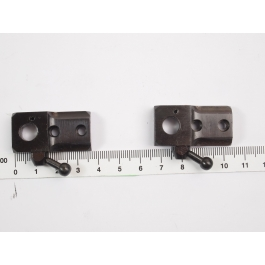 Pack de monturas Shilba (anillas + base) de acero. Altura Media