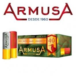 CARTUCHO ARMUSA BECADA C12/70 40G P10 .CAJA 10 U.