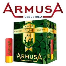 CARTUCHO ARMUSA PLA-1 C12/70 34G P07