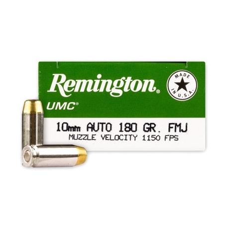 MUNICION REMINGTON C/10 MM.AUTO 180 GR. FMJ