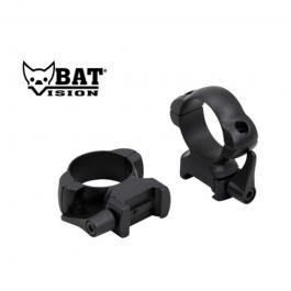 ANILLAS BAT VISION WEAVER DESMONTABLE 30 MM ACERO ALTA BAT006