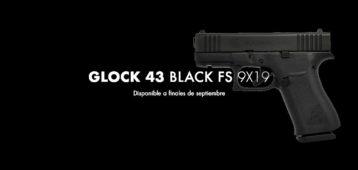 Nueva GLOCK 43 BLACK FS 9X19
