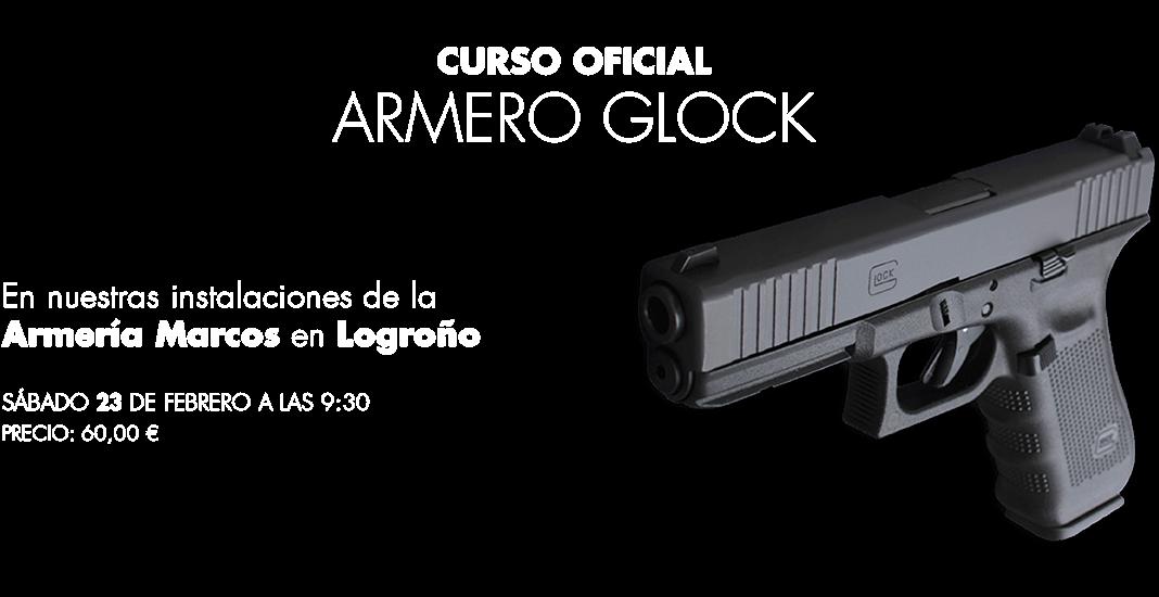 Curso Armero Glock Logroño